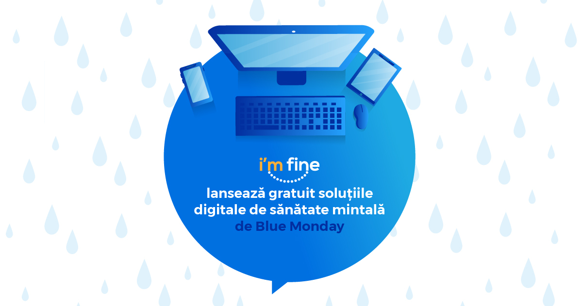 Startupul românesc I'm Fine, lansează aplicația pentru sănătate mintală mai bună