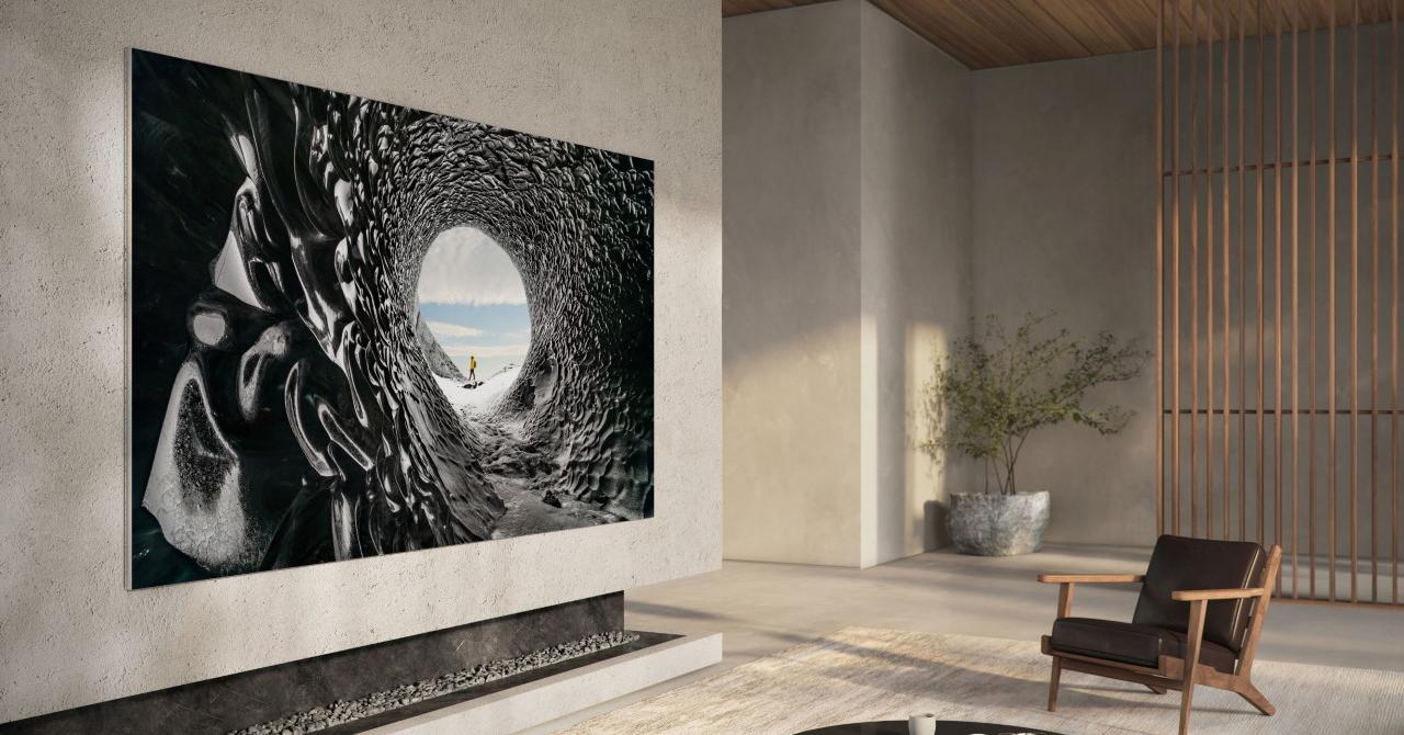 Samsung lansează televizorul micro LED și e mai scump decât un apartament