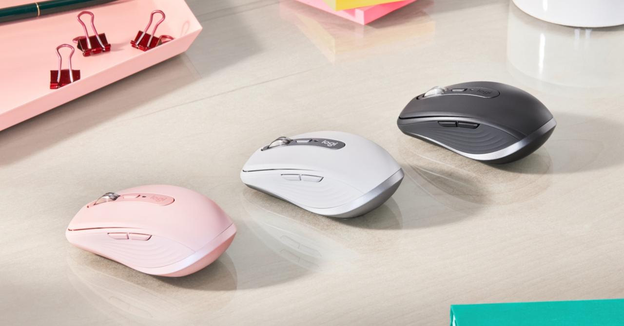 Logitech anunță lansarea mouse-ului wireless MX Anywhere 3