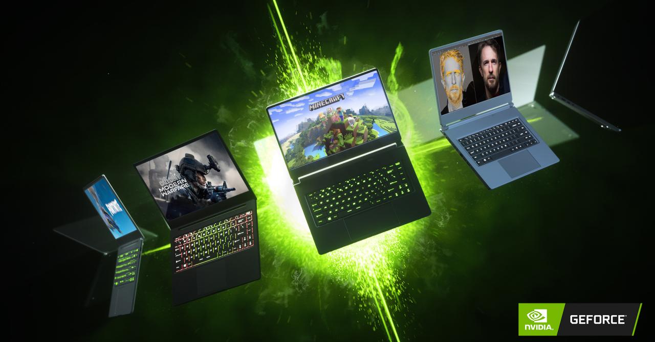 Nvidia lansează noi plăci video RTX SUPER și tehnologii Max-Q