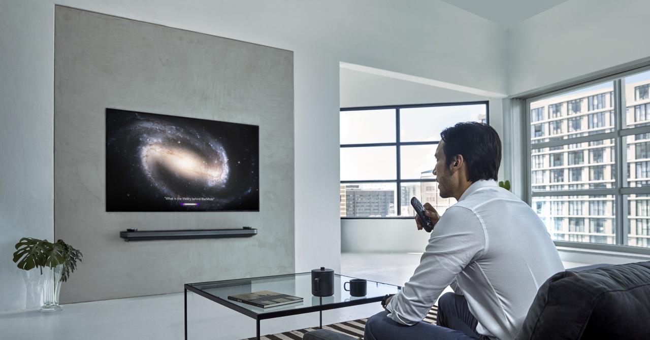 CES 2019: Noile TV-uri LG Thinq promit experiențe de vizionare inedite