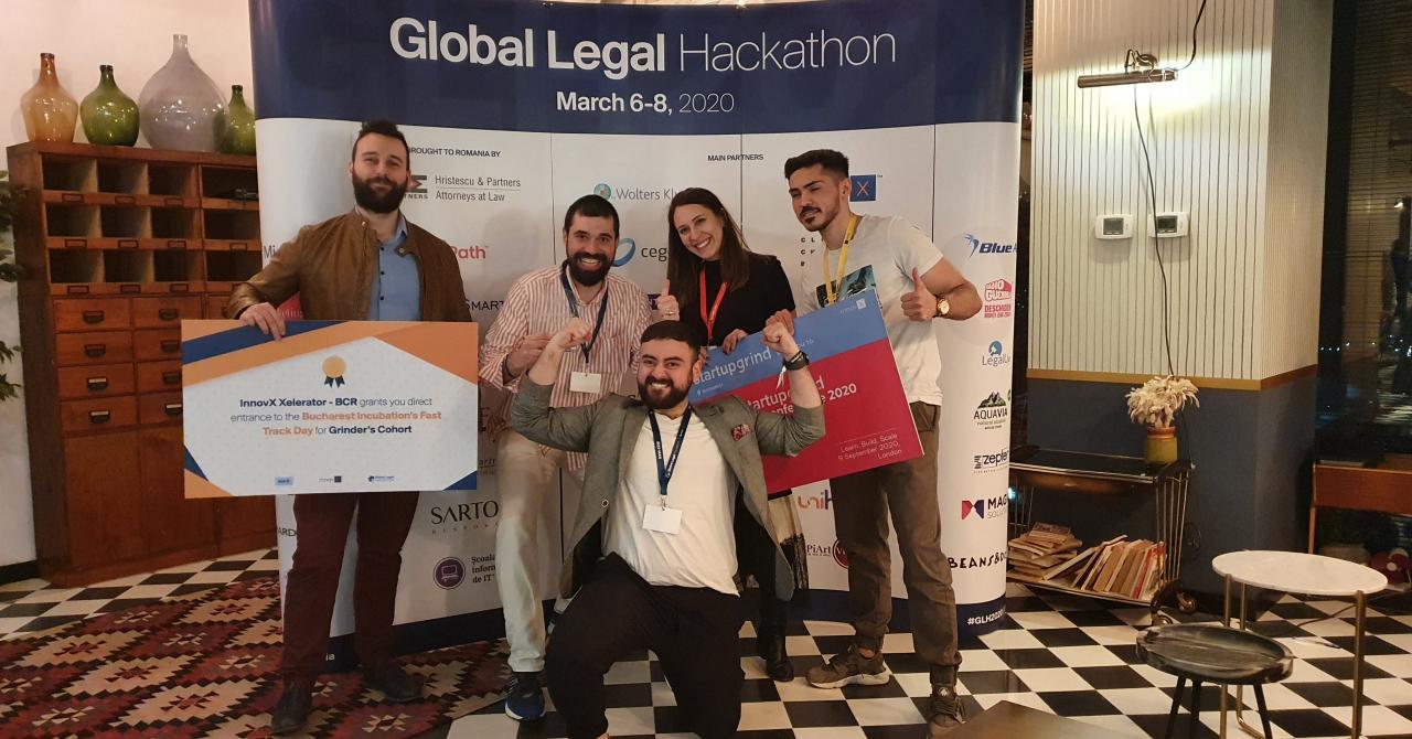 România, pentru a doua oară în finala Global Legal Hackathon
