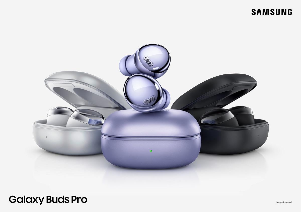 Samsung lansează noua generație de căști Galaxy Buds Pro. Ce aduc în plus?