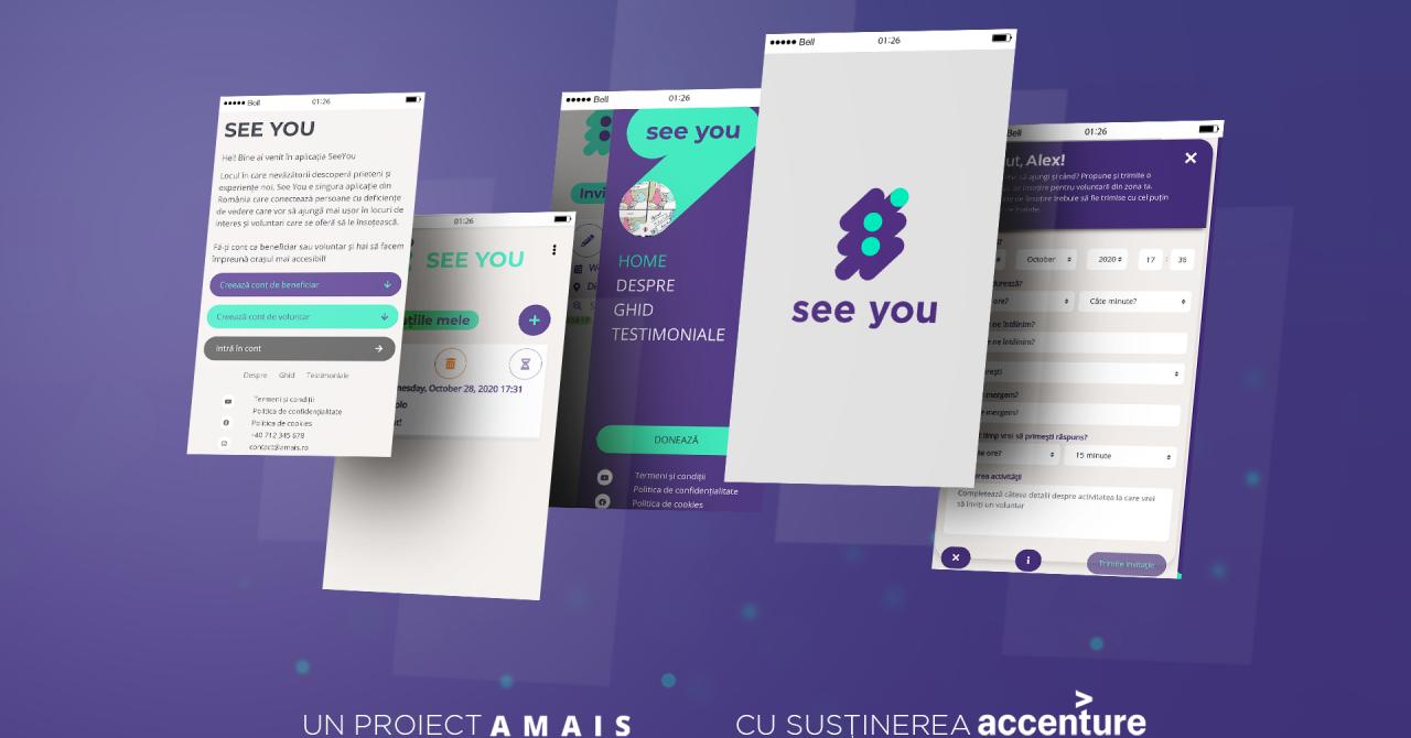 See You, aplicația care le redă viața socială persoanelor nevăzătoare