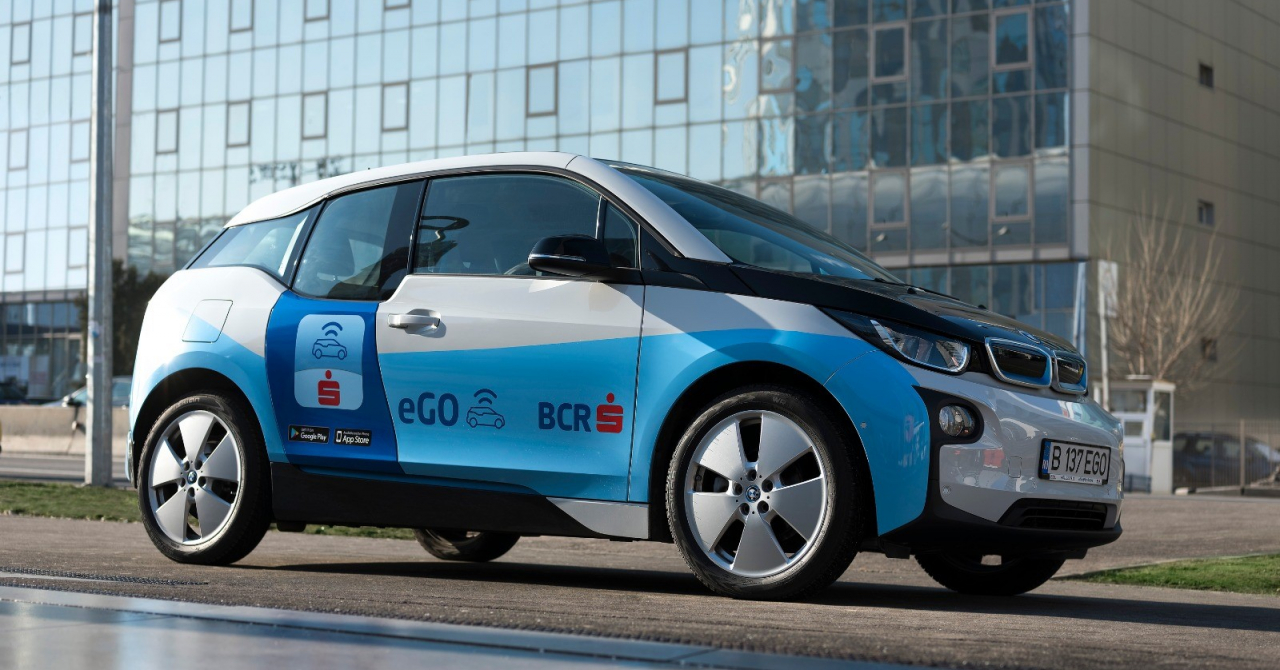 Serviciul de car-sharing electric eGO, lansat oficial și în Timișoara