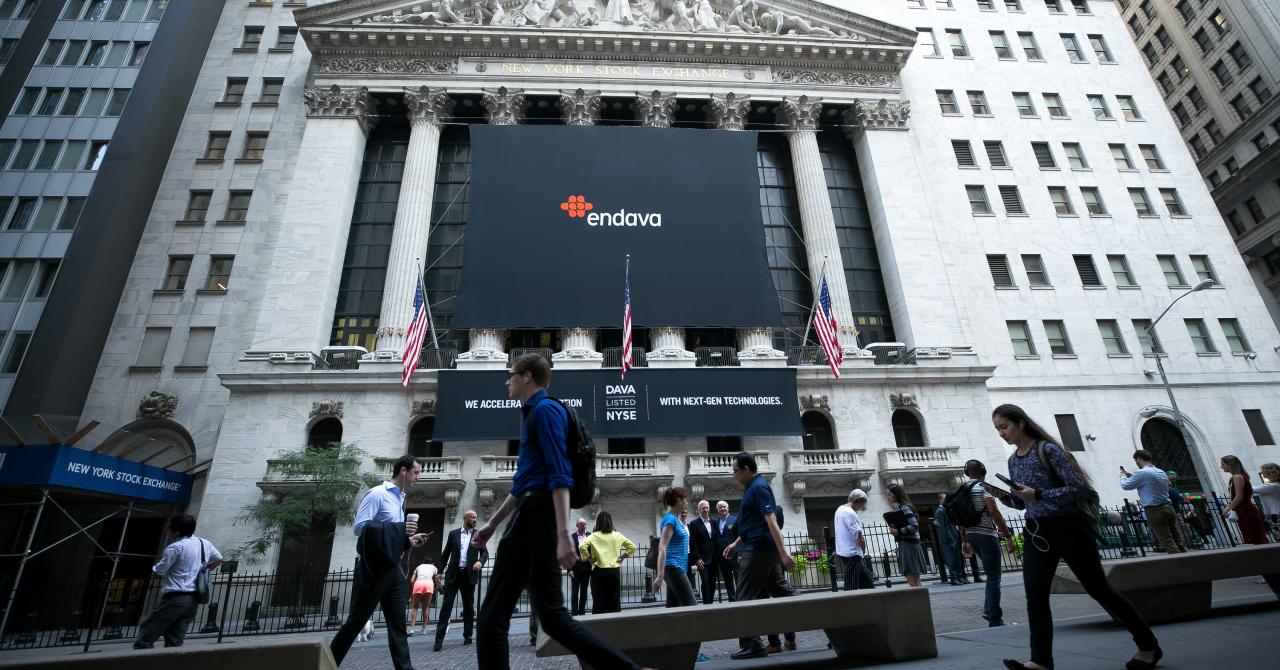 Endava după un an pe bursa din New York: capitalizare de 2,07 mld. $