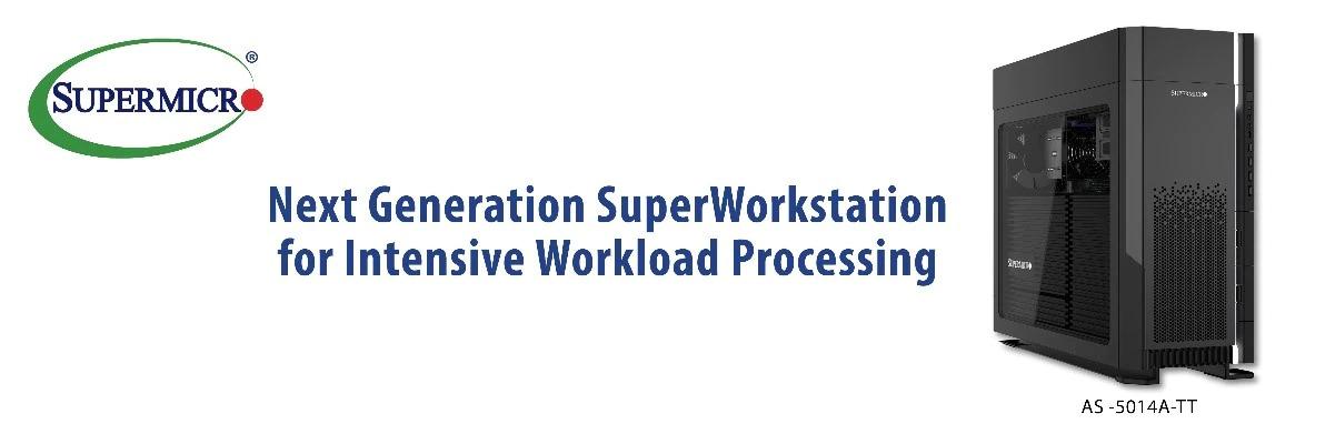 CES 2021: Super Micro Computer, stație grafică cu 64 de nuclee pentru modelare 3D