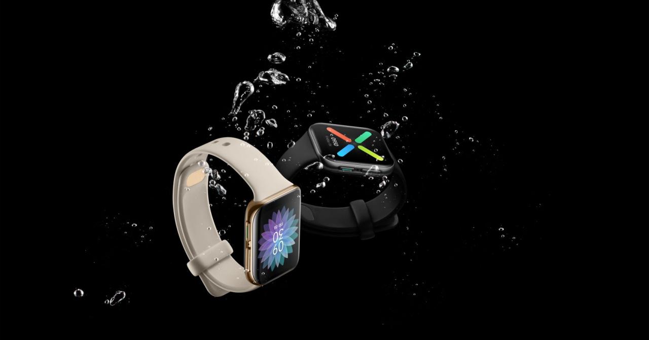 Oppo Watch e ceasul smart cu ecran dublu curbat și Wear OS de la Google