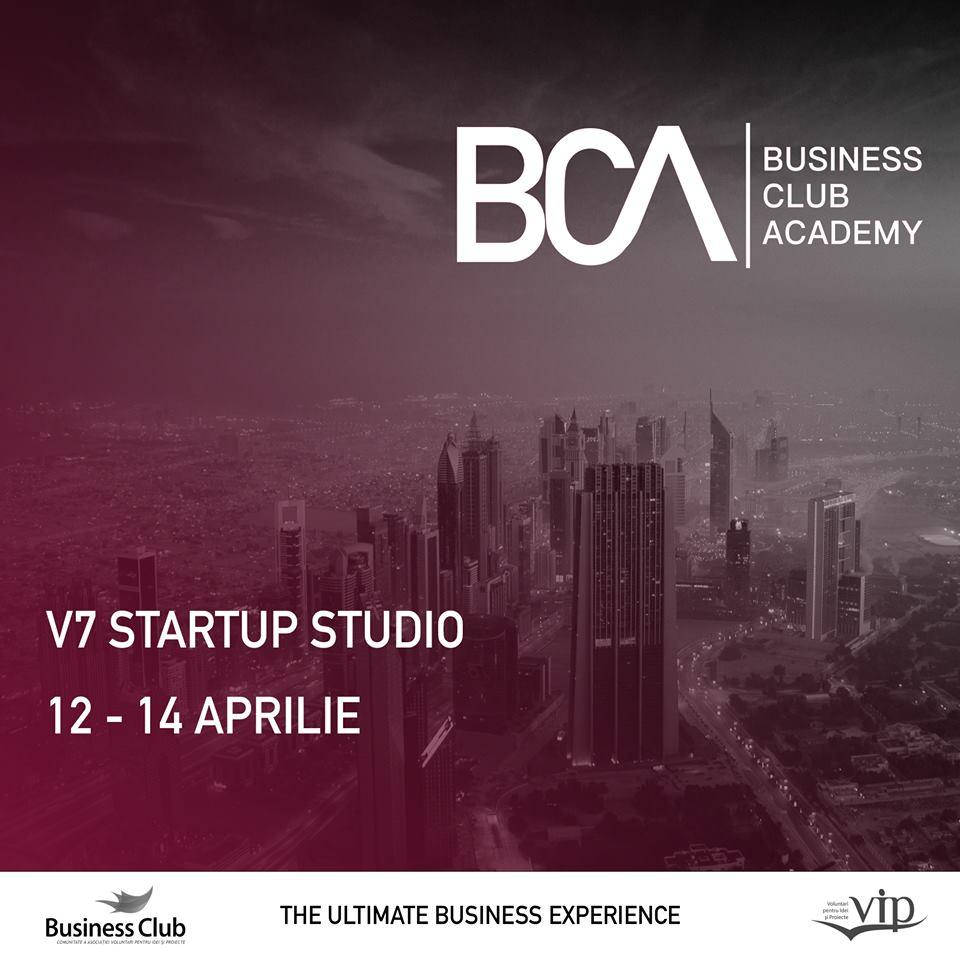 Business Club Academy - masterclass de antreprenoriat pentru studenți