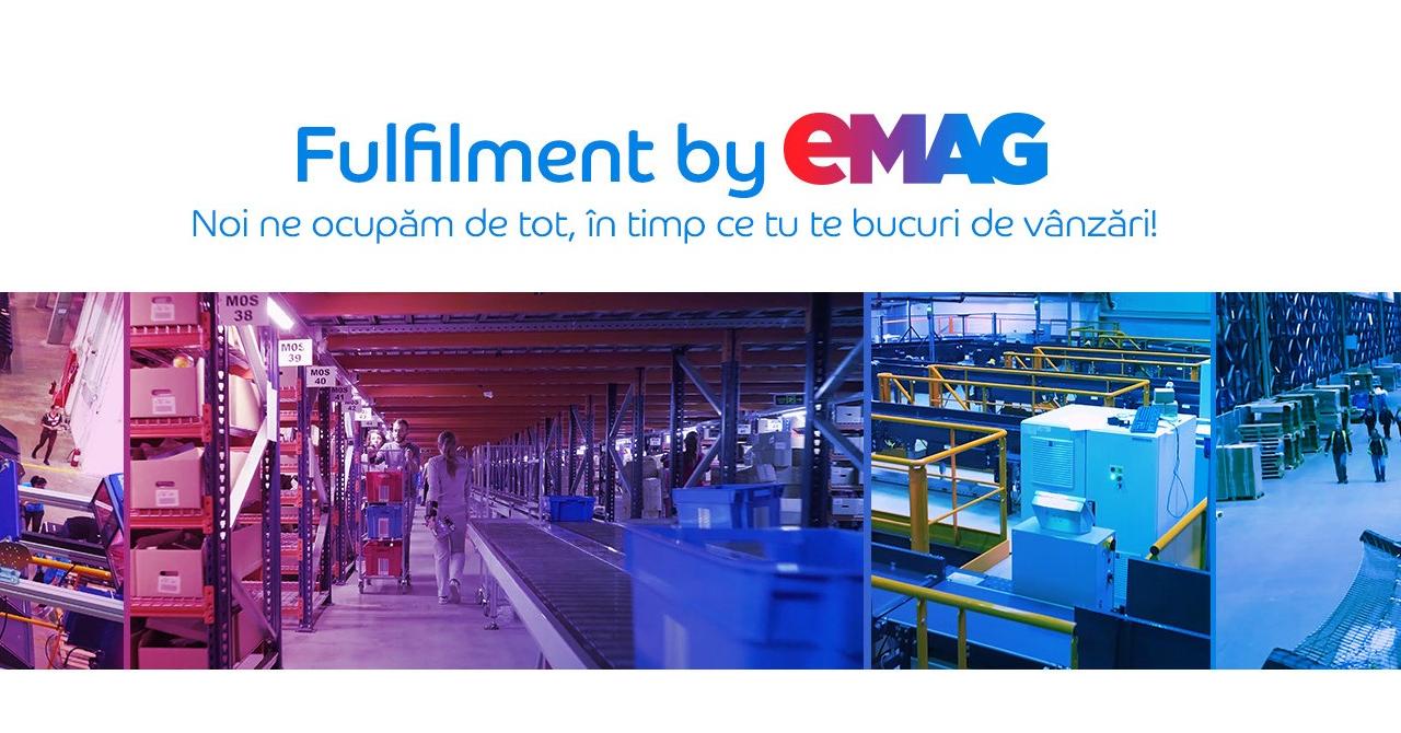 eMAG Marketplace: Cum te ajută serviciul Fulfilment by eMAG să crești afacerea