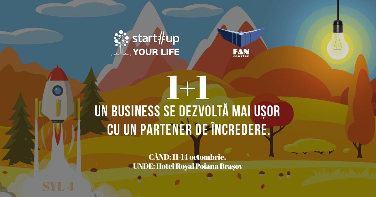 Ultimul loc la Startup Your Life: comandă pentru tine și ia un prieten