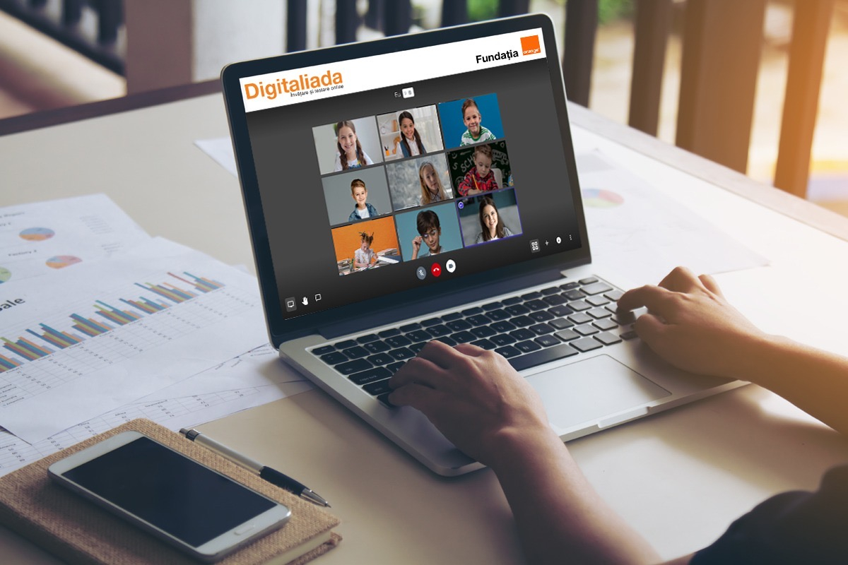 Platforma de învățare Digitaliada primește modul gratuit de videoconferințe