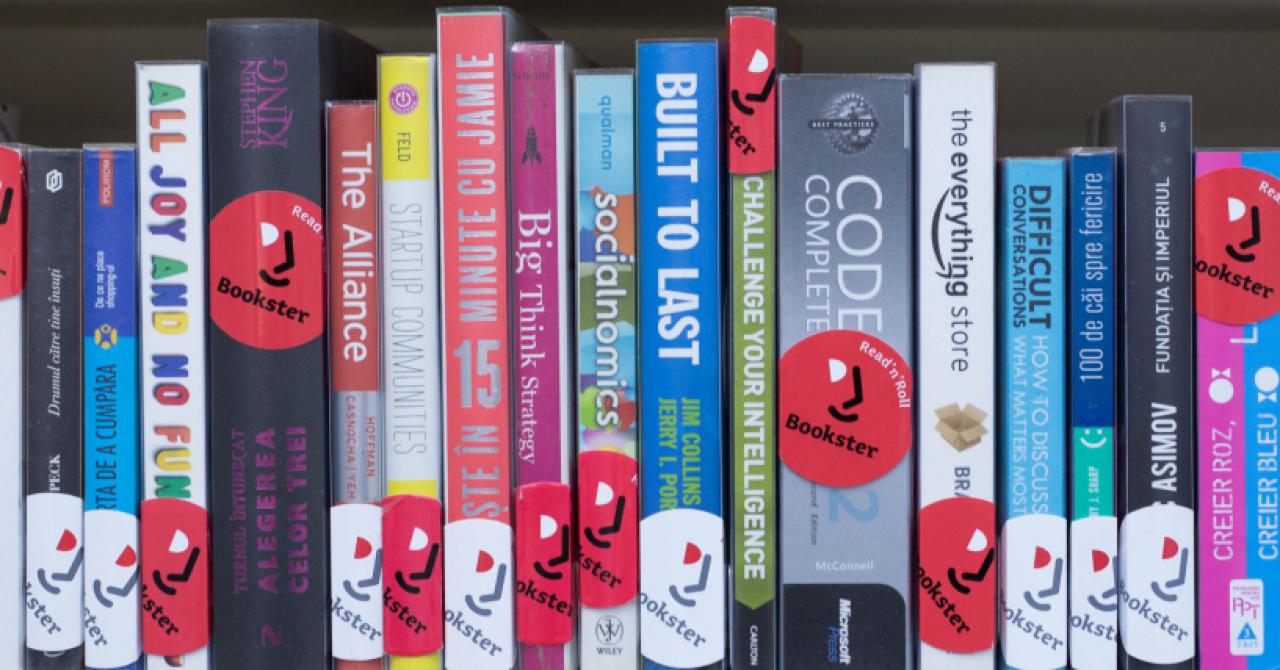 Biblioteca Bookster: cărțile citite de angajații români