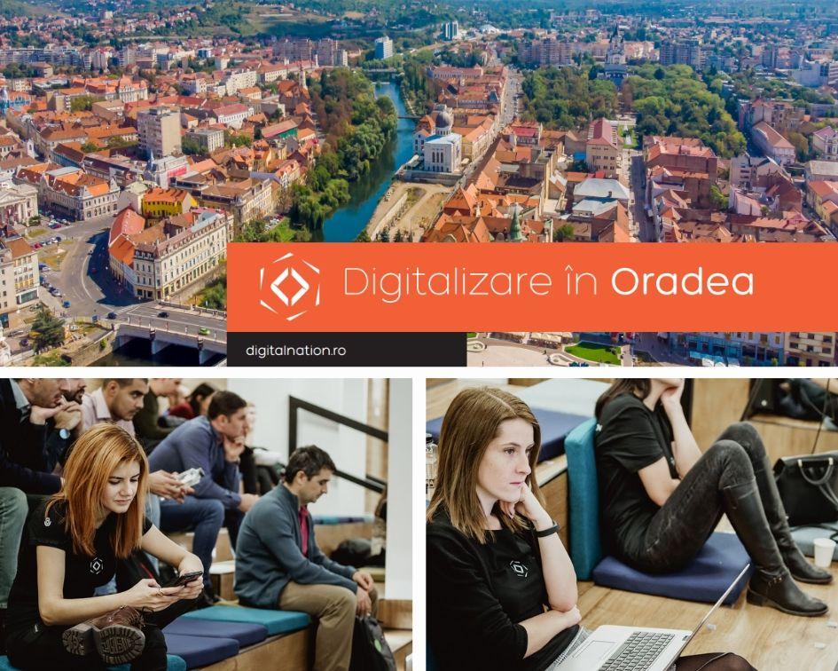 Oradea intră în cadrul proiectului de digitalizare Generația Tech