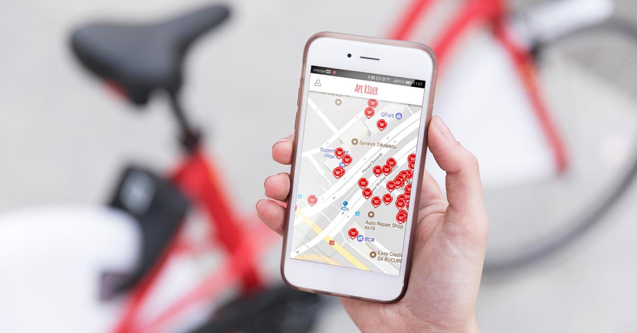 Dezvoltarea aplicației de bikesharing de la Pegas, preluată de Tremend