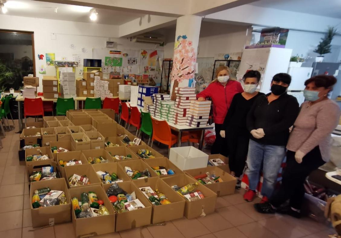 Coronavirus | Herbalife România, donații de produse alimentare și de igienă