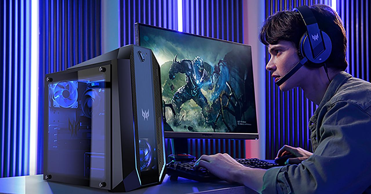Acer anunță integrarea plăcilor NVIDIA RTX seria 30 pe Predator Orion