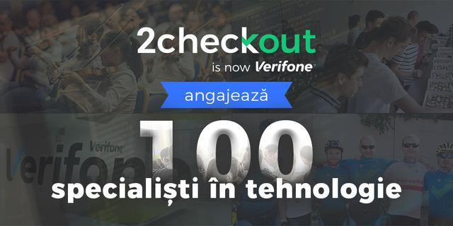 Joburi în IT: 2Checkout angajează 100 de specialiști tech în București