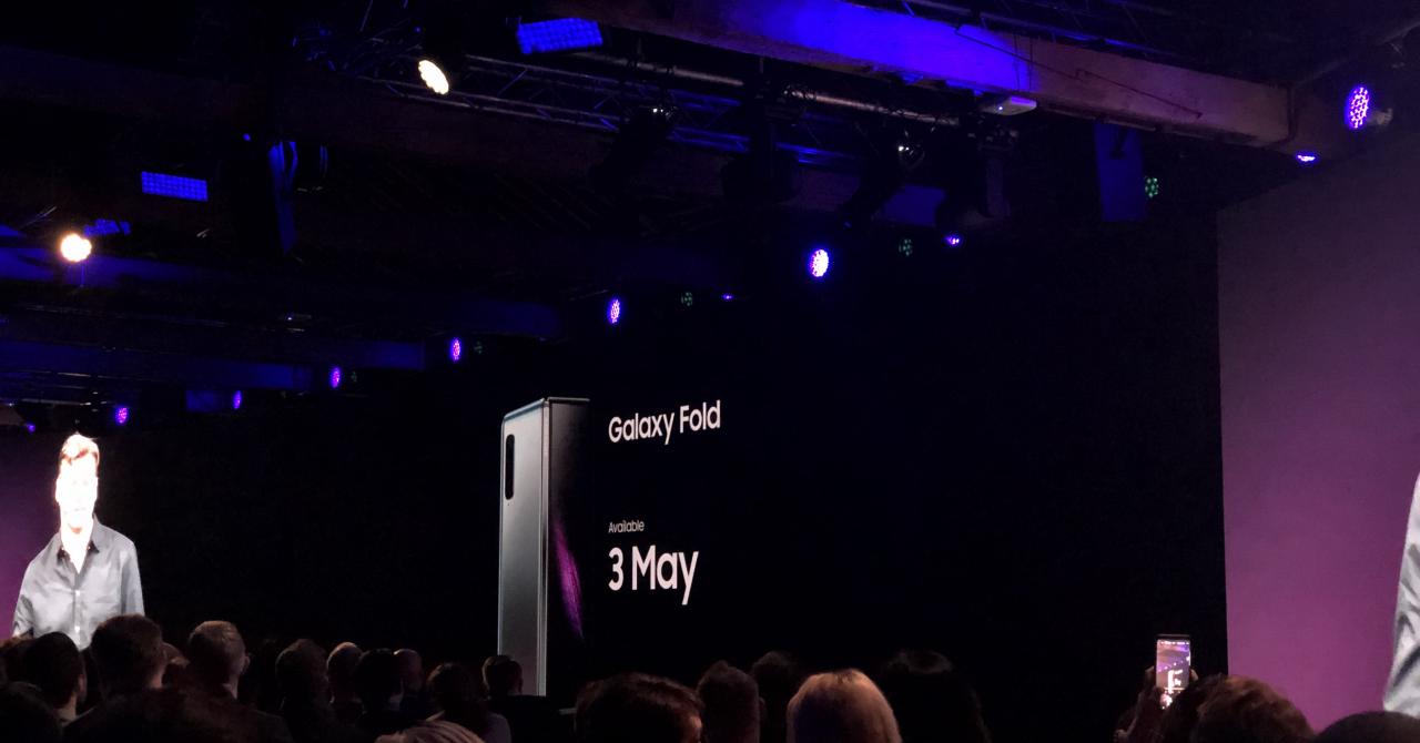 Samsung Galaxy Fold - telefonul pliabil are preț și o dată de lansare