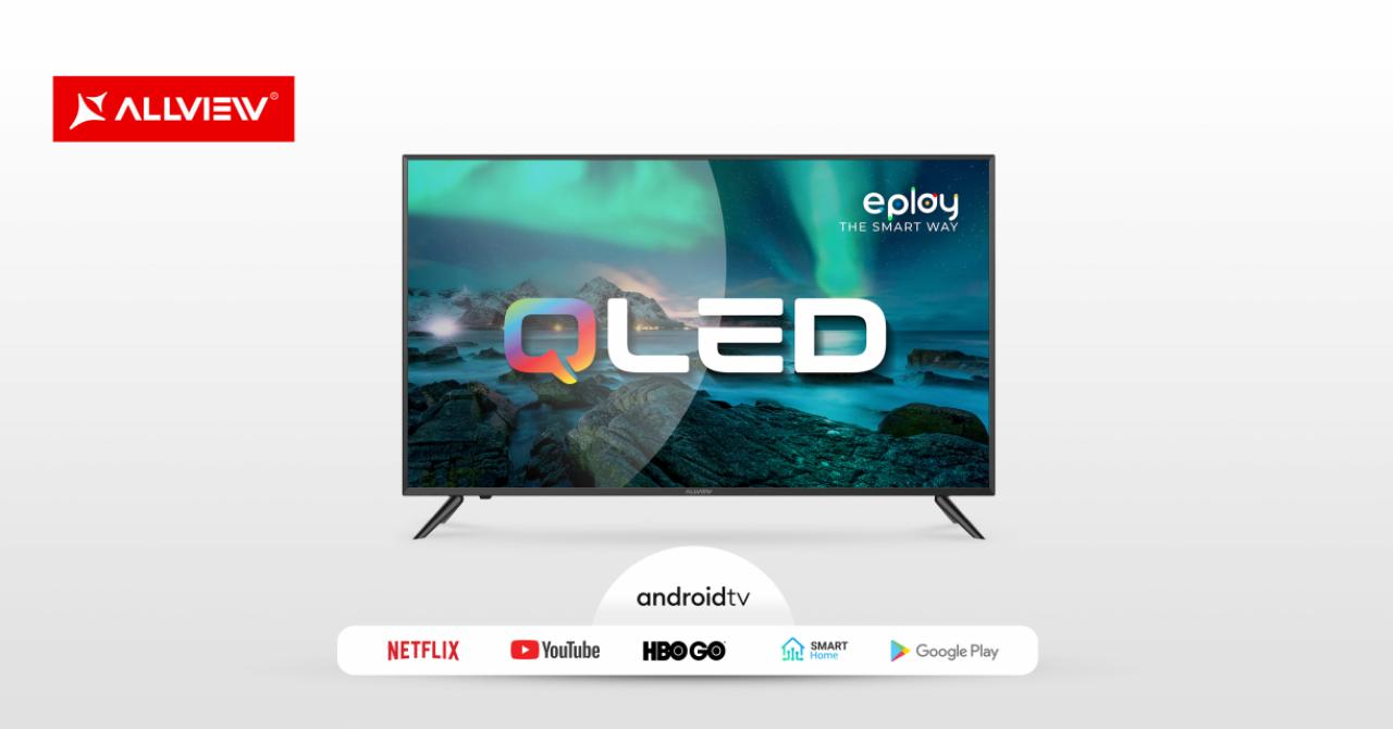 Cel mai accesibil model QLED de vânzare în România, în portofoliul Allview