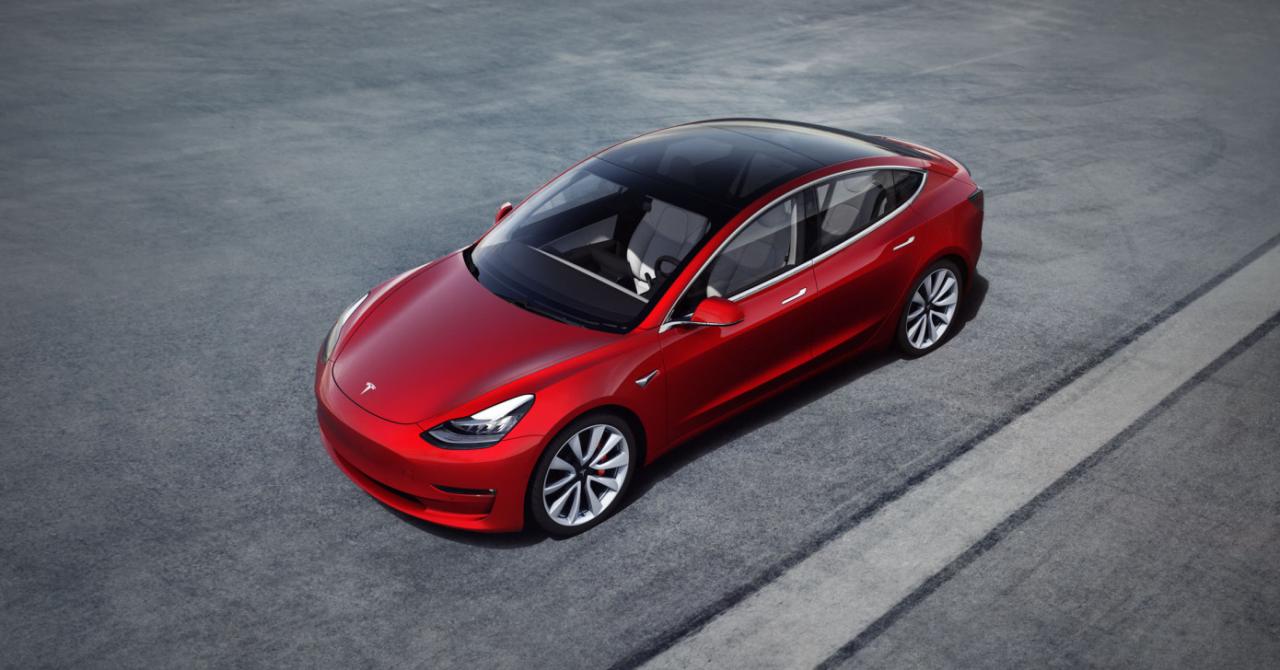 Tesla Model 3, aprobare pentru a circula pe drumurile europene