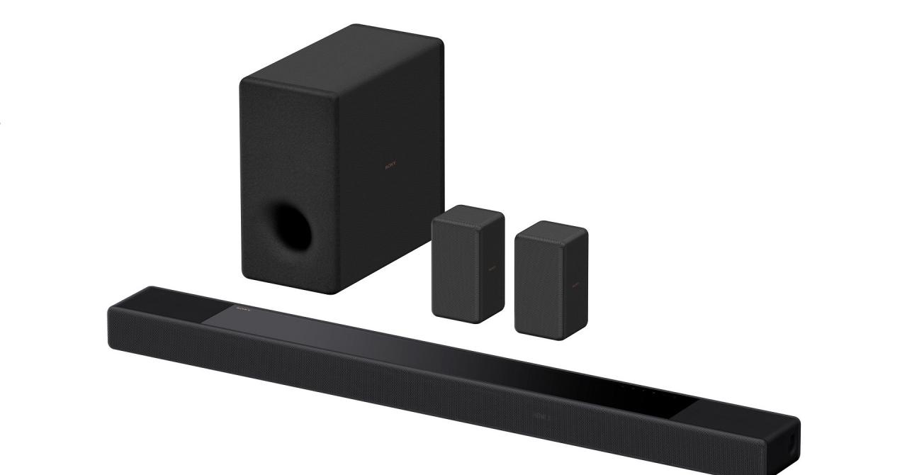 Sony lansează soundbar-ul HT-A7000 cu sunet surround