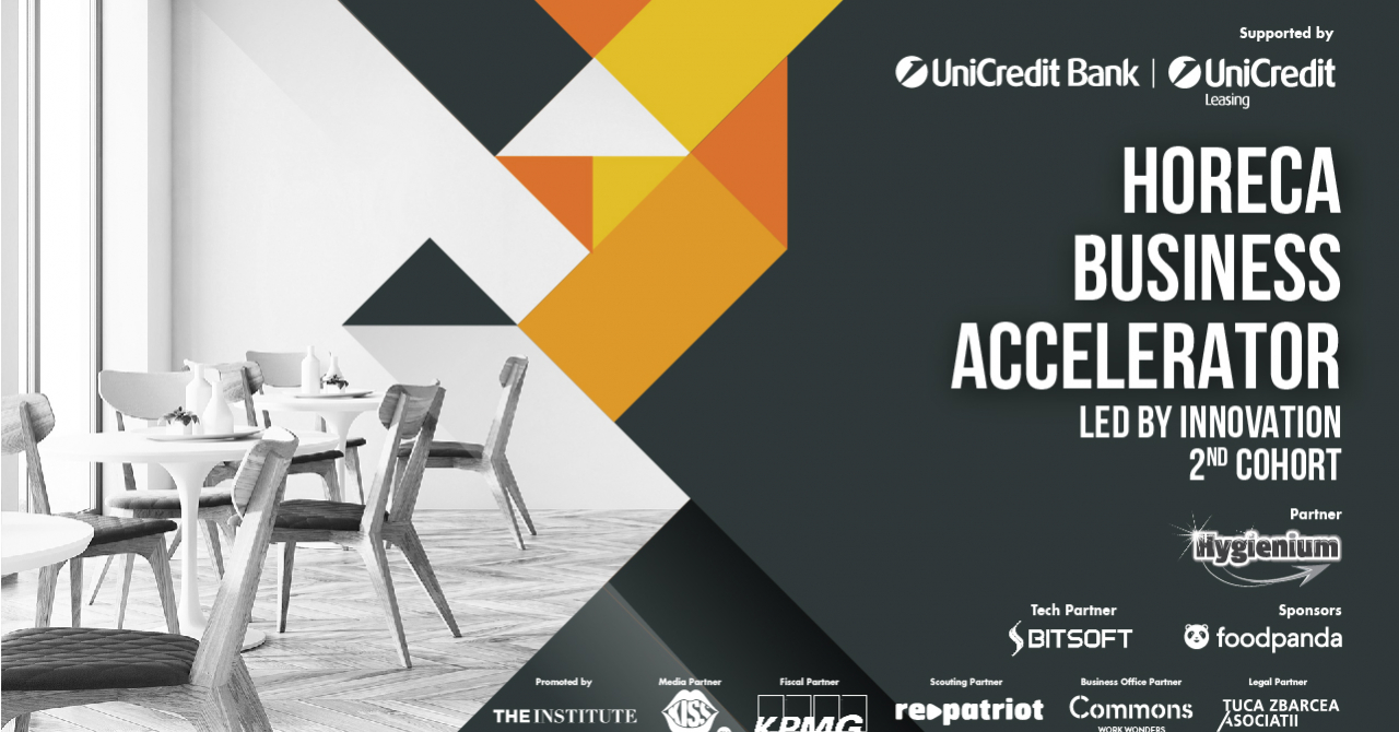 HoReCa Business Accelerator: cele 9 echipe acceptate în grupa #2 a programului