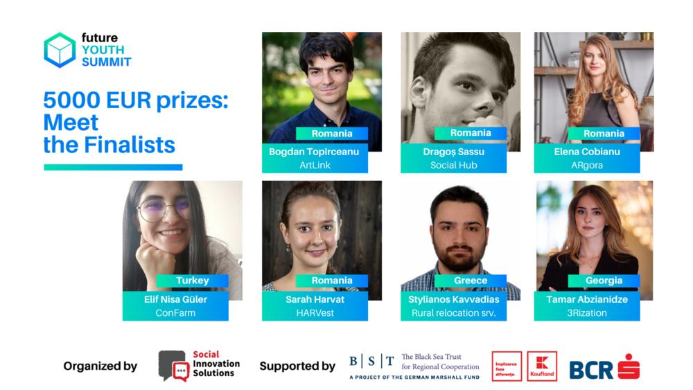 Premii de 5.000 de euro pentru soluții de viitor la Future Youth Summit