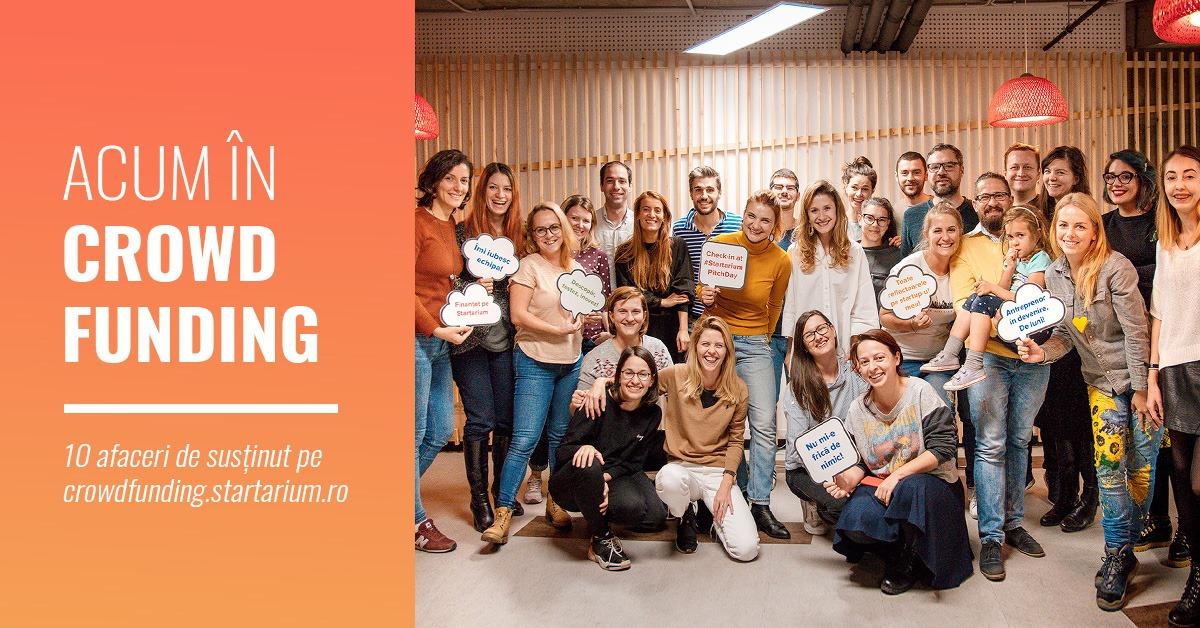 10 idei de afaceri lansate în crowdfunding cu mai puțin de 10.000 euro