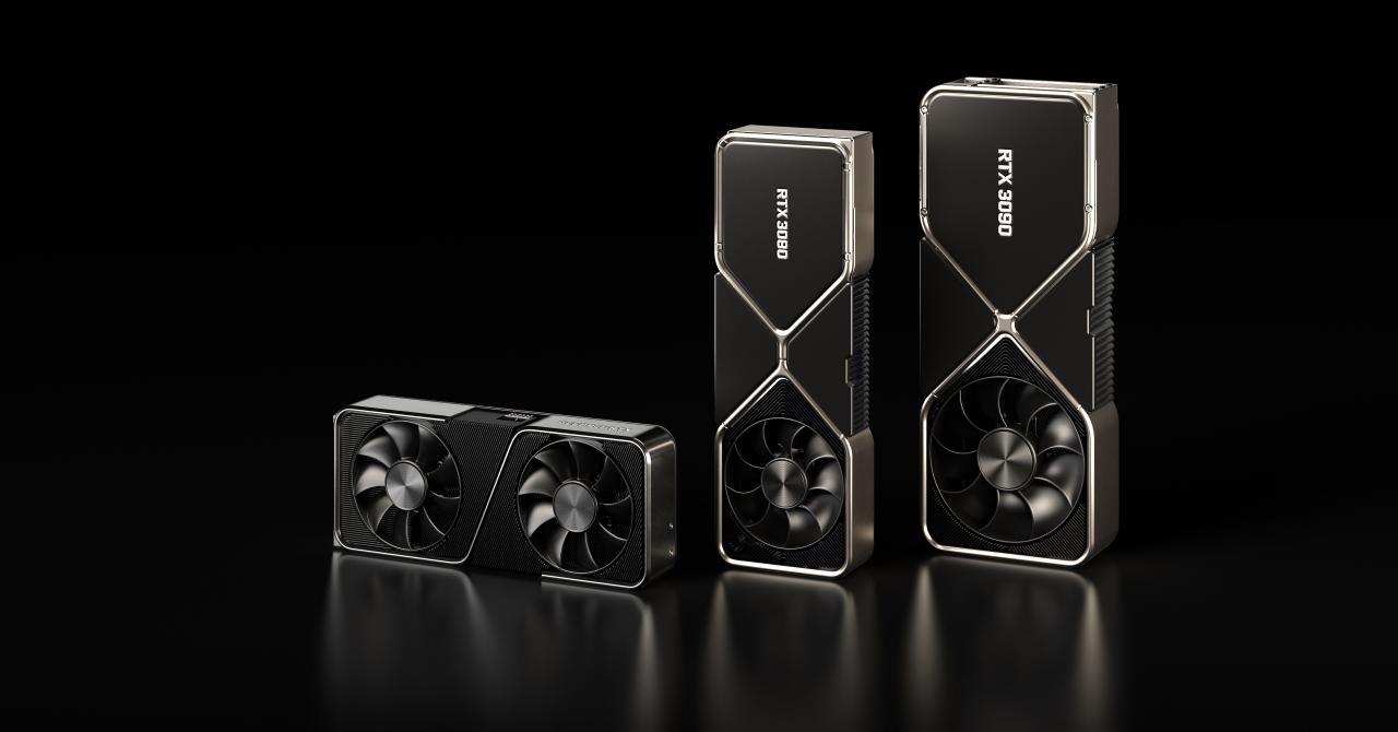 NVIDIA lansează plăcile video RTX 30, inclusiv un model ce suportă 8K la 60 fps