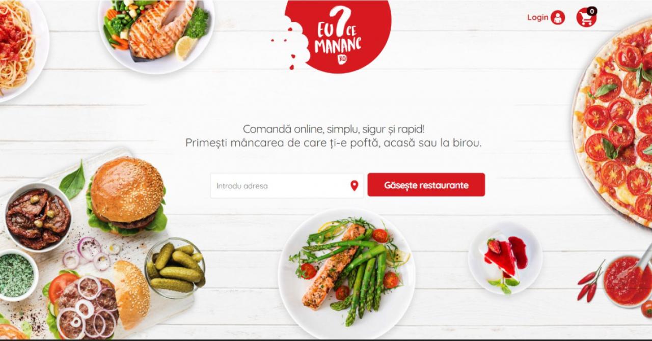 eMAG intră pe livrarea de mâncare: acționar în aplicația EuCeMananc