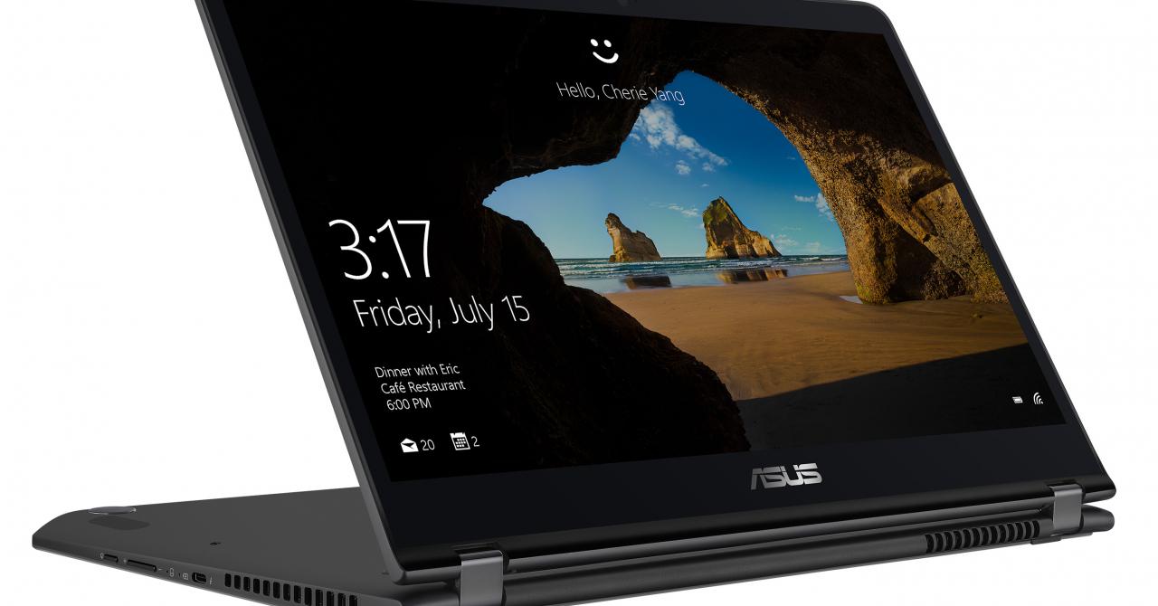 Noile ASUS ZenBook Flip au ecrane care se dau peste cap și putere mare