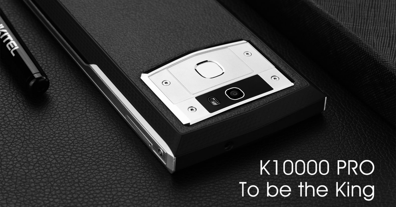 Oukitel K10000 Pro, smartphone-ul cu cea mai mare baterie