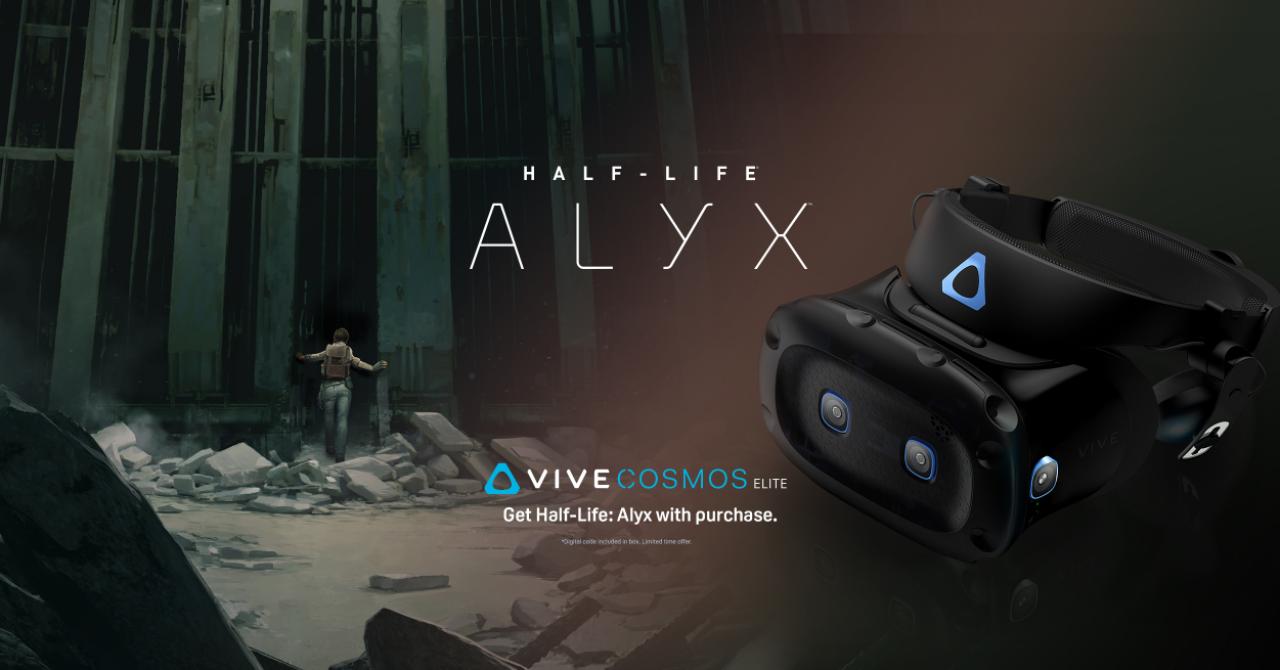 HTC VIVE Cosmos Elite s-a lansat oficial și vine cu noul joc Half-Life: Alyx