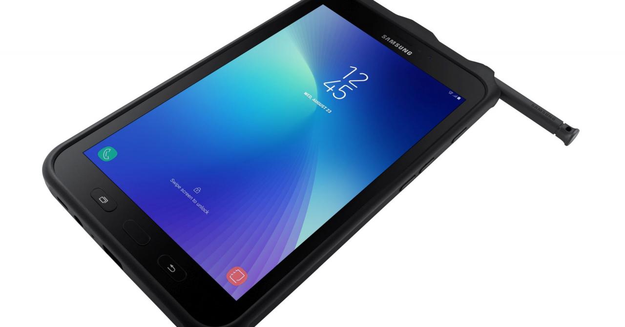 Samsung Galaxy Tab Active2 e rezistentă și vine cu funcții de business