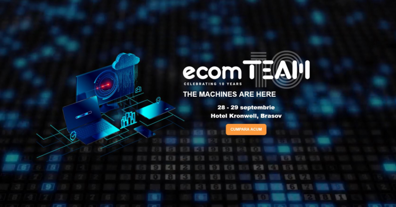 Evenimentul de ecommerce ecomTEAM: ediție de toamnă între 28-29 septembrie