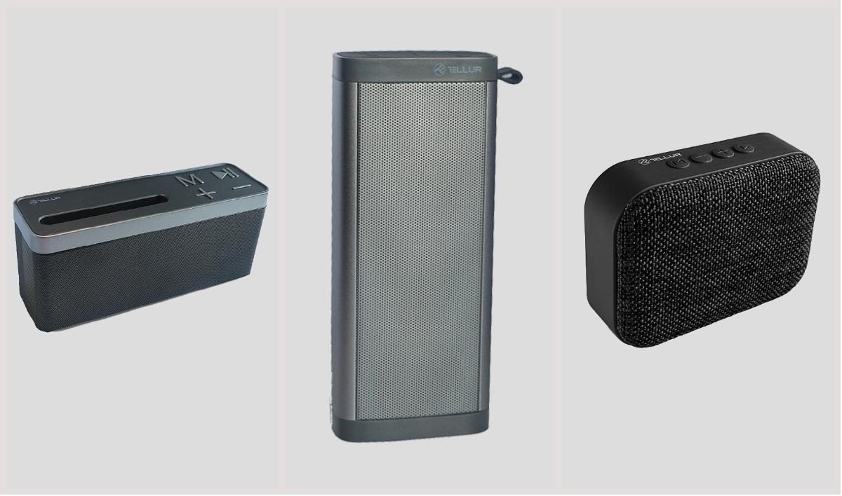 Boxe bluetooth ieftine și puternice: trei modele de la Tellur