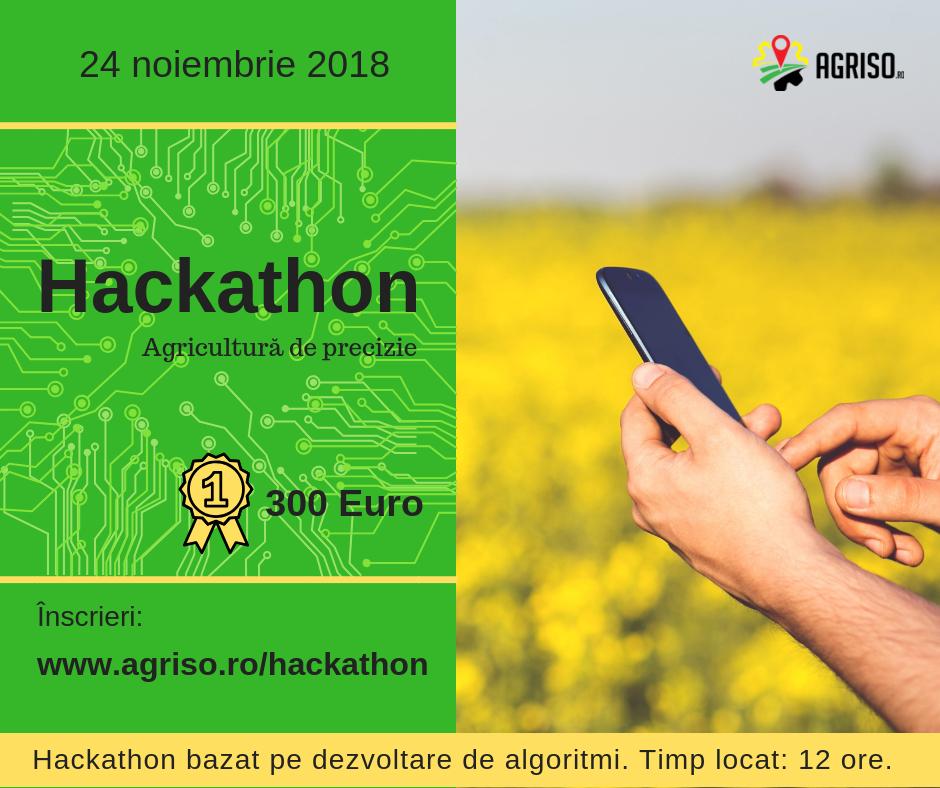 Hackathon pentru tinerii care vor să îmbine tech-ul cu agricultura