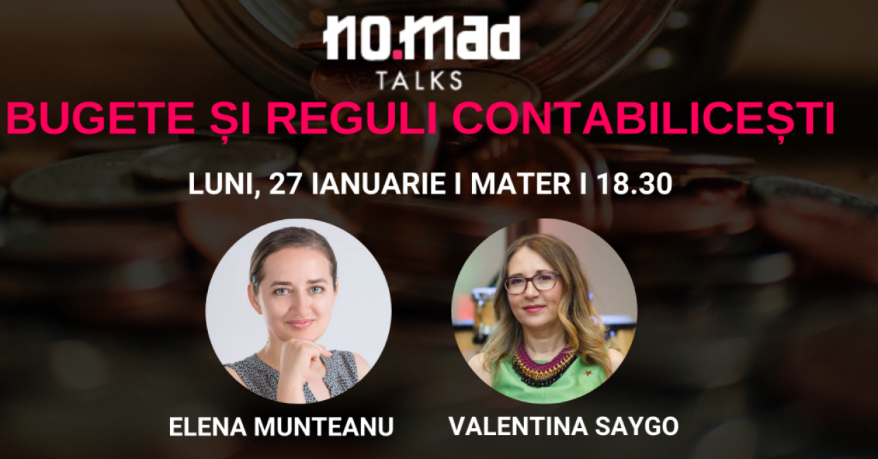 NO.MAD Talks: eveniment de contabilitate pentru freelanceri