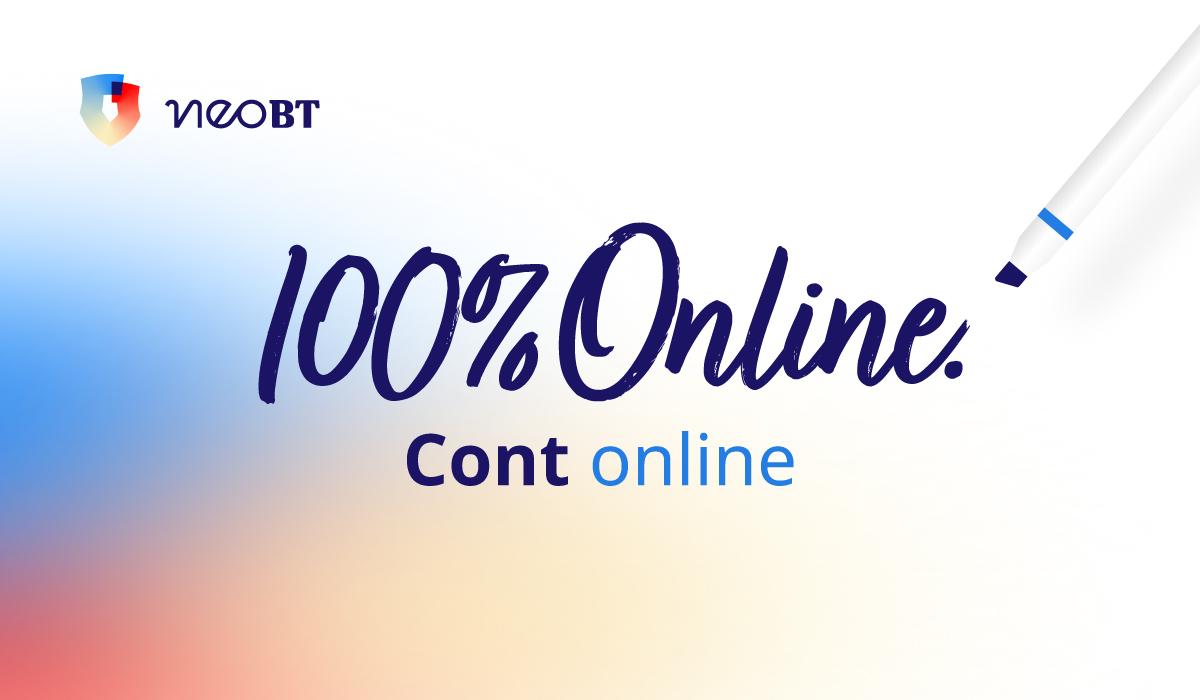 Banca Transilvania lansează NEOcont: contul deschis 100% online