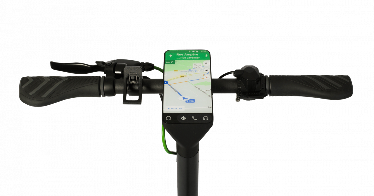 Trotineta electrică Archos Citee Connect - prima cu Android