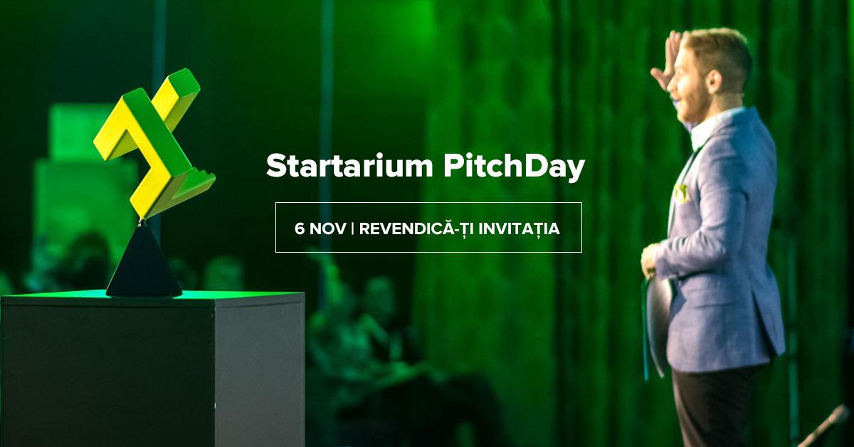 Startarium Pitch Day - programul și detalii despre eveniment