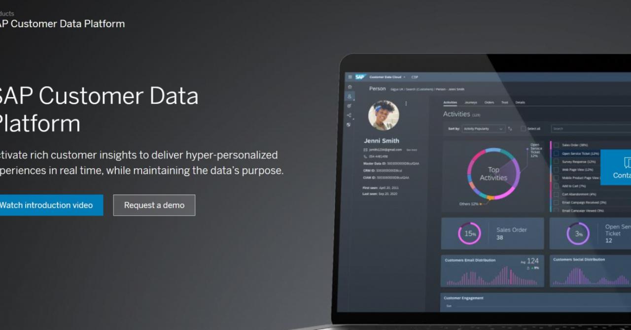 SAP lansează Customer Data Platform, soluție pentru interacțiunea cu clienții
