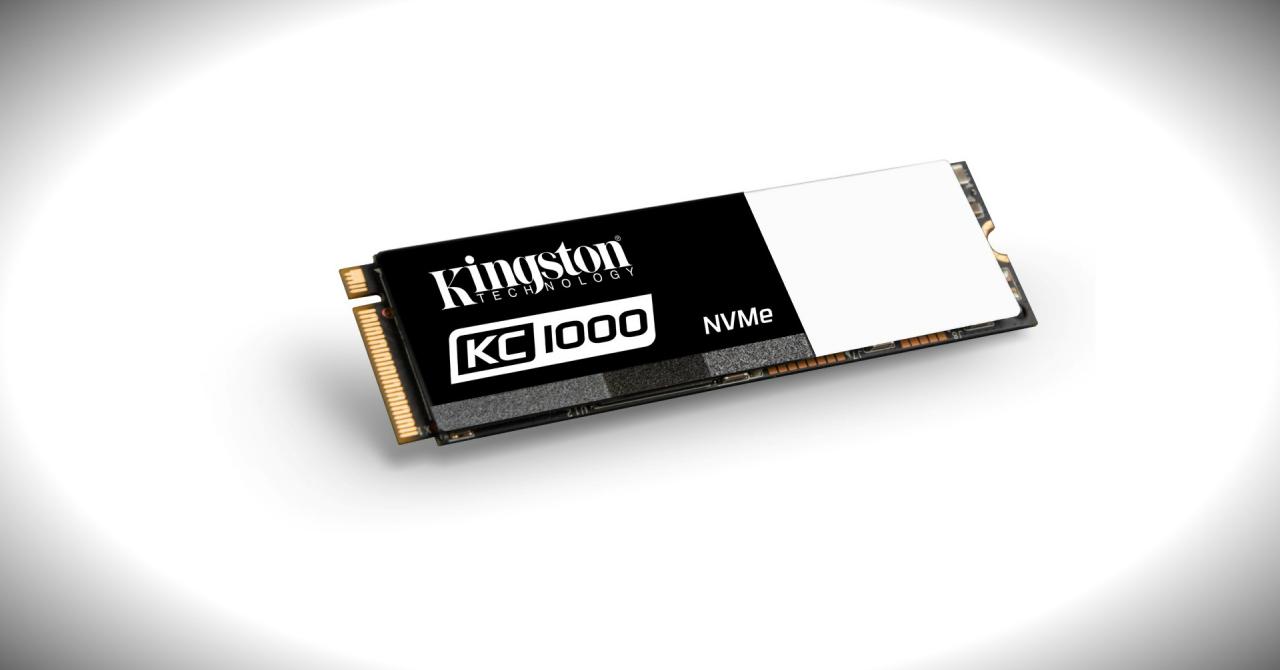 SSD-ul NVMe PCIe al Kingston, de două ori mai rapid decât un SSD SATA