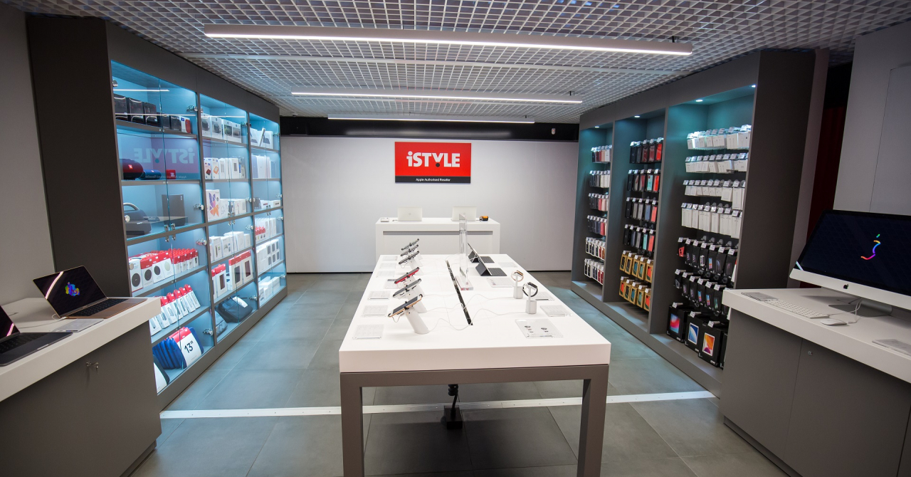 iSTYLE, retailer specializat Apple, își deschide primul magazin stradal