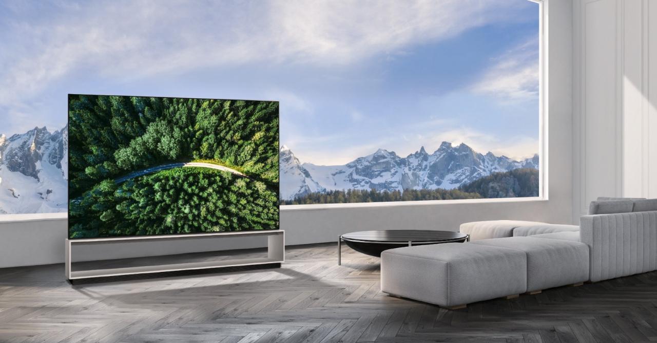 Când o să puteți cumpăra primul TV OLED 8K și cât o să coste