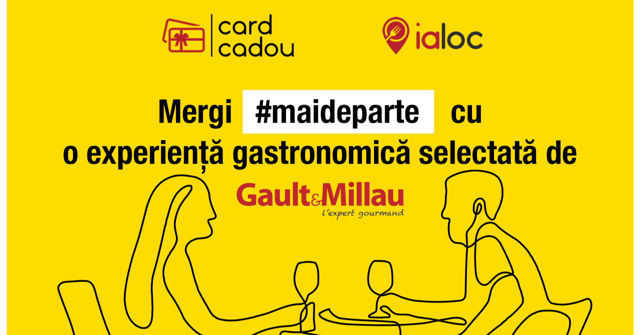 ialoc.ro și Gault&Millau lansează cardurile cadou care ajută restaurante închise