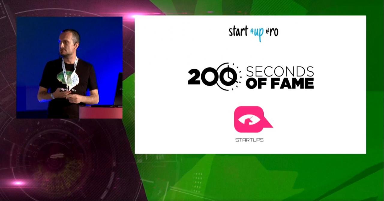 Față în față cu investitorii: înscrie-te la 200 Seconds of Fame