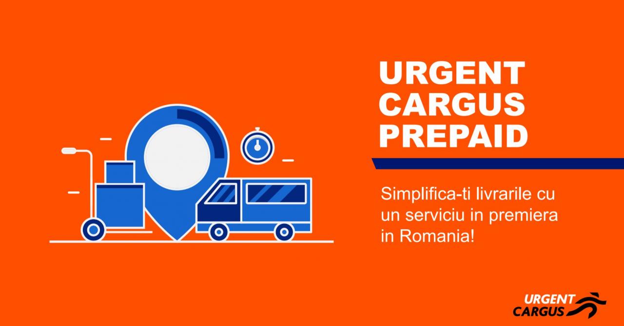 Urgent Cargus introduce abonament prepaid pentru companiile mici