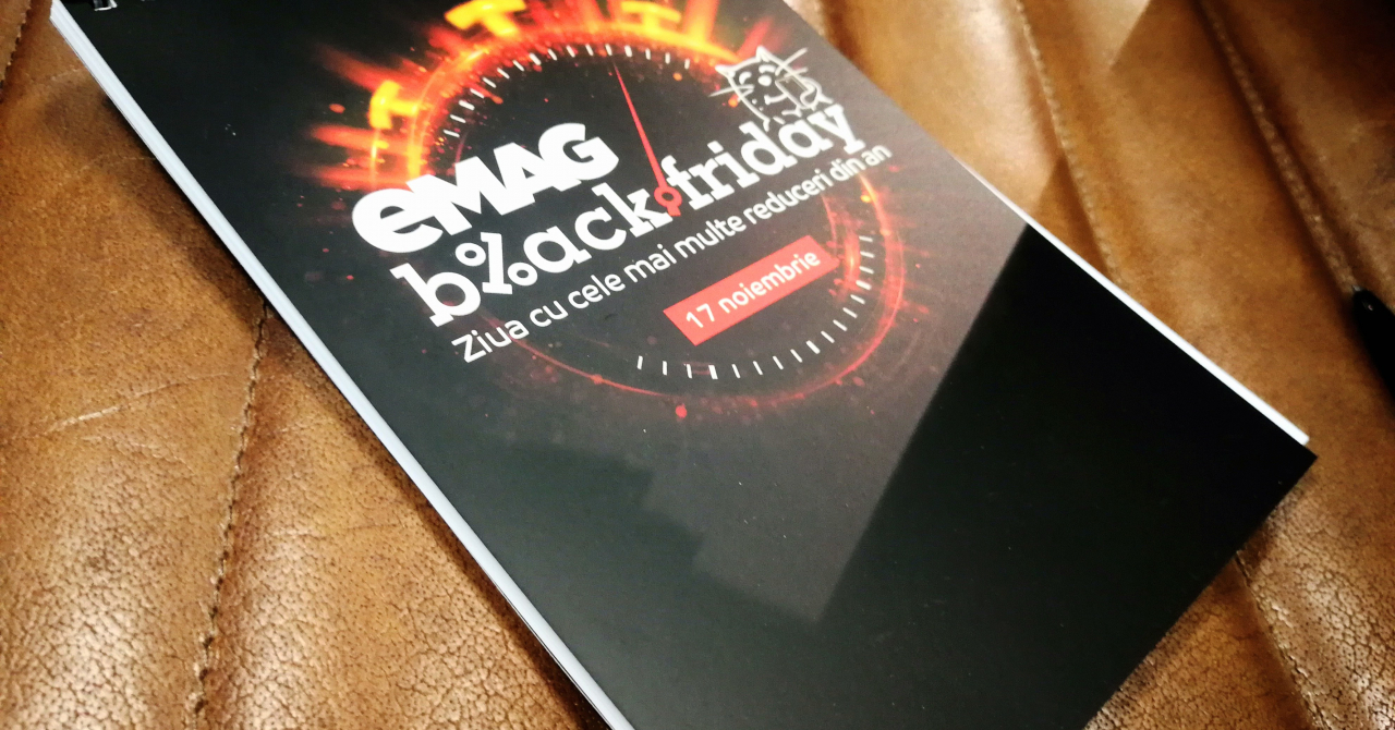 eMAG Black Friday 2017 - Statistici și categorii de produse